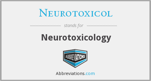 What does NEUROTOXICOL stand for?