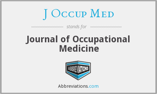J Occup Med - Journal of Occupational Medicine