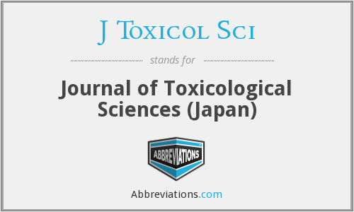 J Toxicol Sci - Journal of Toxicological Sciences (Japan)