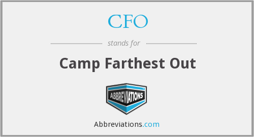 CFO - Camp Farthest Out