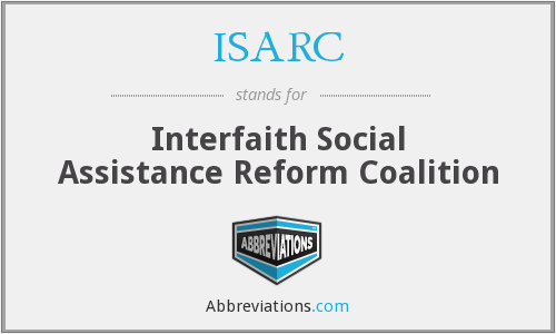 ISARC - Interfaith Social Assistance Reform Coalition