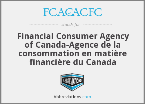 What does FCAC-ACFC stand for?
