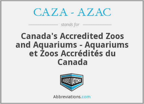 What does CAZA - AZAC stand for?