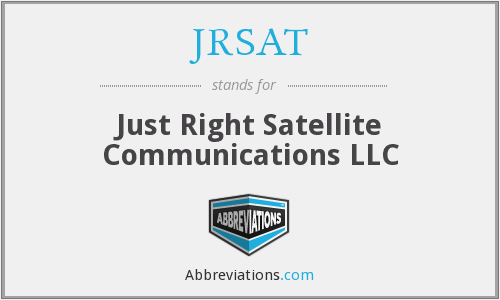 What does JRSAT stand for?
