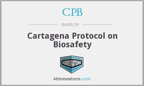 CPB - Cartagena Protocol on Biosafety
