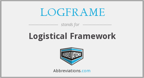 What does LOG FRAME stand for?