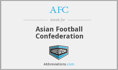 AFC - Asian Football Confederation