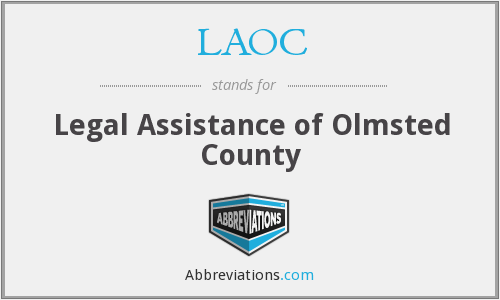 LAOC - Legal Assistance of Olmsted County