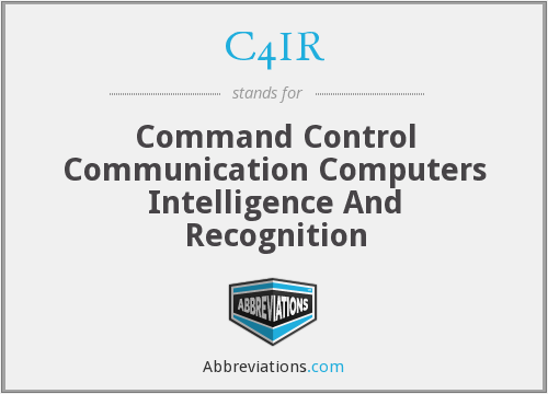 What does C4IR stand for?