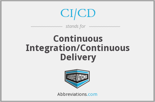 CI/CD - Continuous Integration/Continuous Delivery
