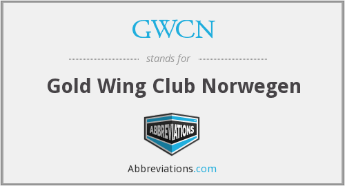 GWCN - Gold Wing Club Norwegen