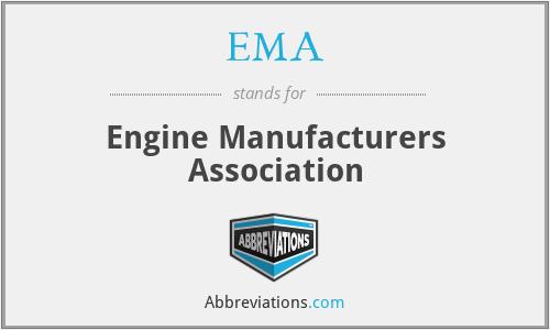 EMA - Engine Manufacturers Association