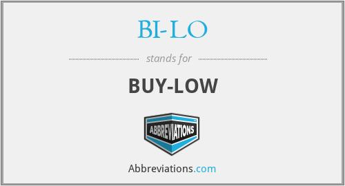 BI-LO - BUY-LOW