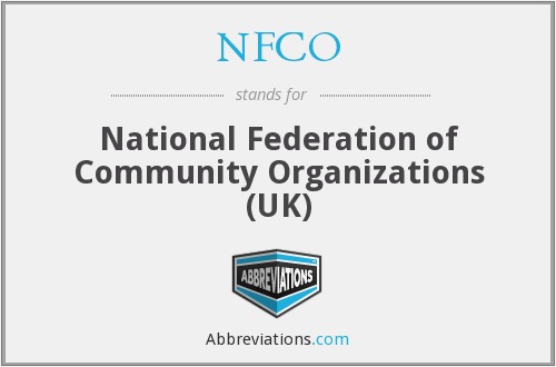 NFCO - National Federation of Community Organizations (UK)