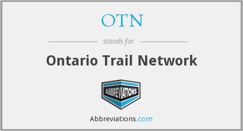 OTN - Ontario Trail Network