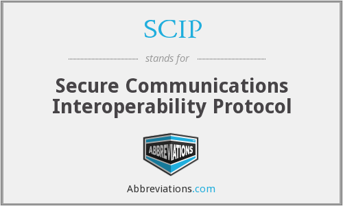 SCIP - Secure Communications Interoperability Protocol
