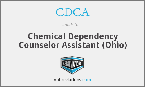 CDCA - Chemical Dependency Counselor Assistant (Ohio)
