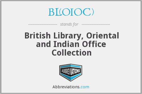 What does BL(OIOC) stand for?