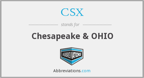 CSX - Chesapeake & OHIO
