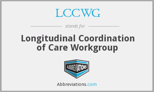 What does LCCWG stand for?