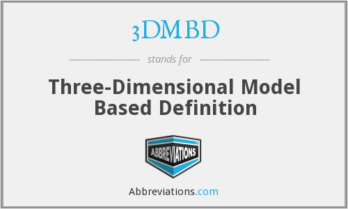 What does 3DMBD stand for?