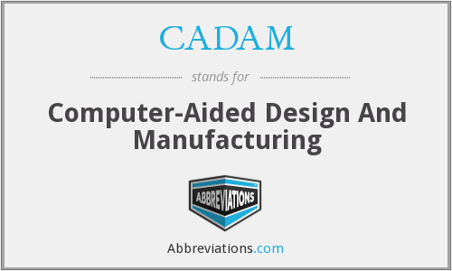 CADAM - Computer Aided Design And Manufacture