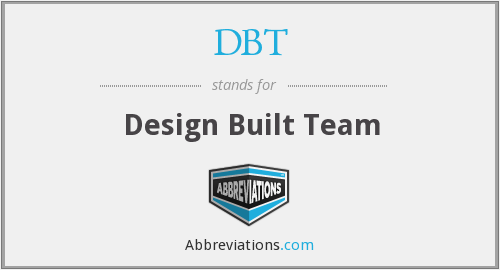 DBT - Design Built Team