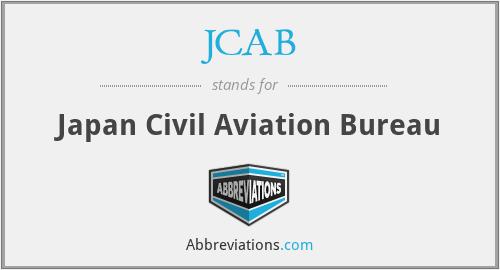 jcab japan civil aviation bureau. Black Bedroom Furniture Sets. Home Design Ideas