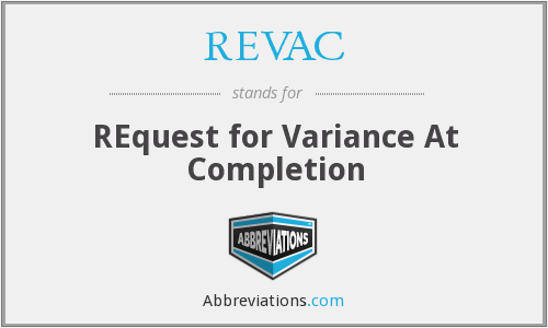 What does REVAC stand for?