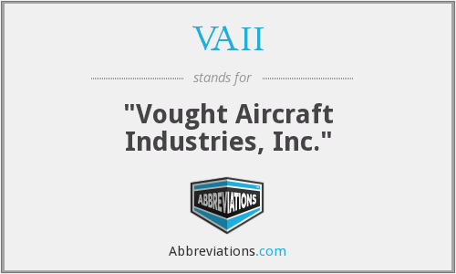 What does VAII stand for?