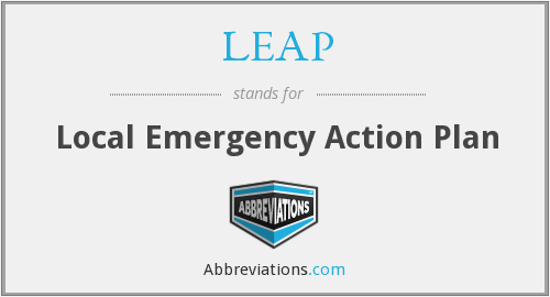 What does LEAP stand for?