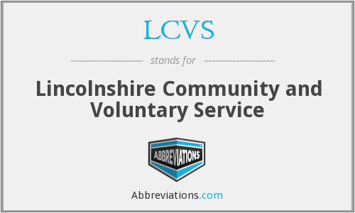 What does LCVS stand for?