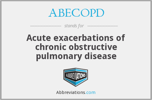 What does ABECOPD stand for?