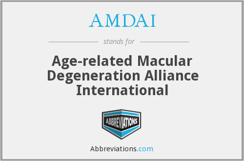 What does AMDAI stand for?