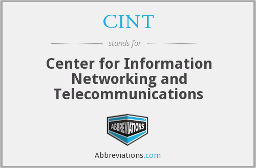 What does CINT stand for?