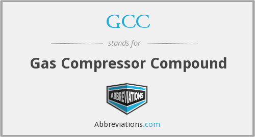 GCC - Gas Compressor Compound