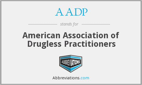 What does AADP stand for?