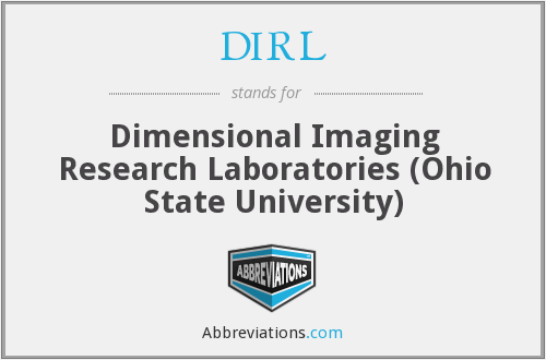 DIRL - Dimensional Imaging Research Laboratories (Ohio State University)