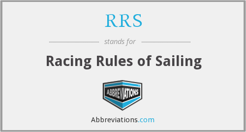 RRS - Racing Rules of Sailing