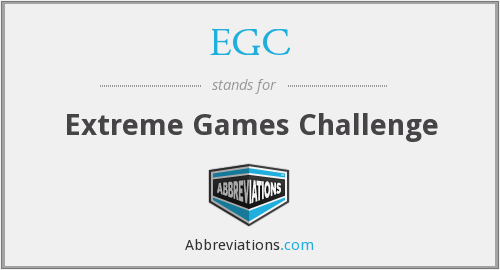 EGC - Extreme Games Challenge