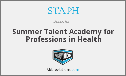 STAPH - Summer Talent Academy for Professions in Health