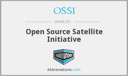 OSSI - Open Source Satellite Initiative