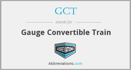 GCT - Gauge Convertible Train