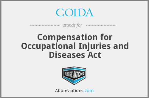 What does COIDA stand for?