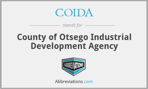 COIDA - County of Otsego Industrial Development Agency