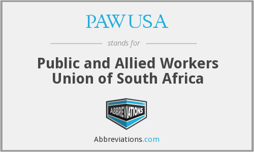 What does PAWUSA stand for?