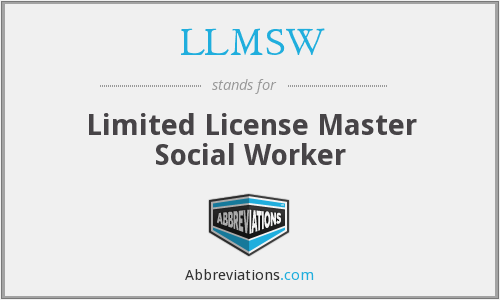 What does LLMSW stand for?