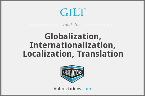 What does GILT stand for?