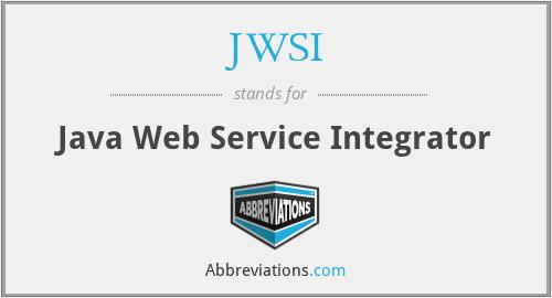 JWSI - Java Web Service Integrator