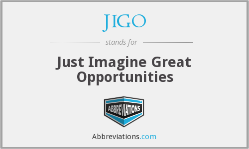 What does JIGO stand for?